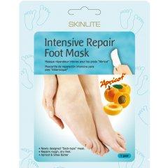 Skinlite Regenerační maska na nohy s bambuckým máslem, 1 pár, 2ks