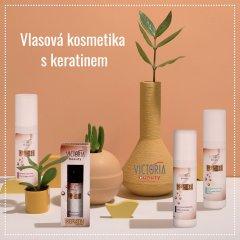 Victoria Beauty KERATIN Therapy Vlasový balzám pro krásné a zdravé vlasy, 300 ml