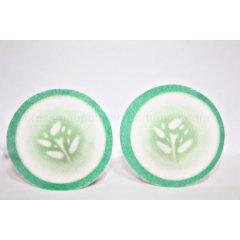 Purederm Hydratační tampónky s okurkou pro zklidnění očního okolí, 10 kusů