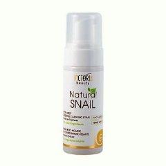 Victoria Beauty Natural snail HYDRA-REST Osvěžující čistící pěna se šnečím extraktem, 160 ml