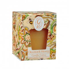 Greenleaf Vonná votivní svíčka Orange & Honey (pomeranč a med)