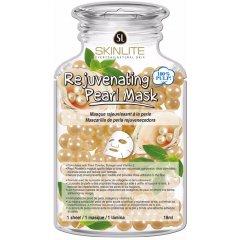 Skinlite Omlazující kolagenová pleťová maska s perlami, 1 ks